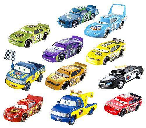 Disney / Pixar Cars Piston Cup Collector Pack Diecast Car 11-Pack Set #1