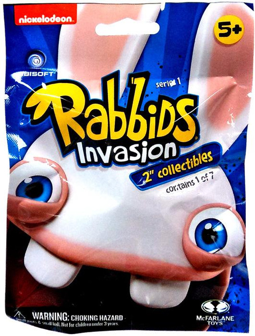 McFarlane Toys Raving Rabbids Mini Figure Rabbids Invasion 2-Inch Mystery Pack