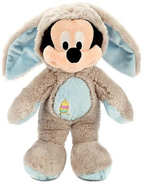 Disney 2014 Easter Mickey Mouse Exclusive 12-Inch Medium Plush [Gray & Blue Bunny Costume]