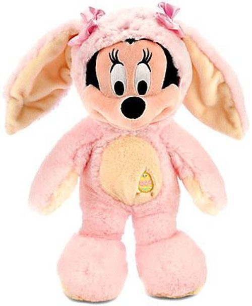 Disney 2014 Easter Minnie Mouse Exclusive 12-Inch Medium Plush [Pink & Yellow Bunny Costume]