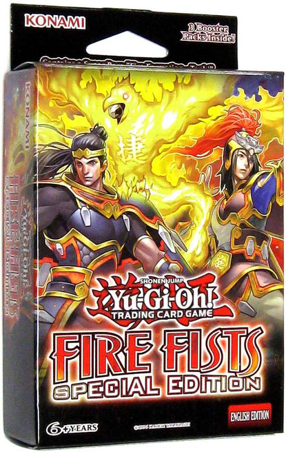 YuGiOh Trading Card Game Fire Fists Special Edition