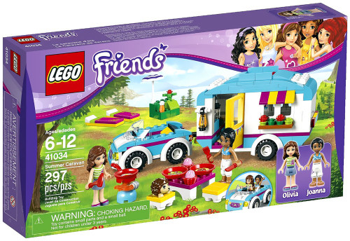 LEGO Friends Summer Caravan Set #41034
