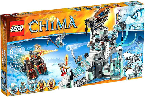 LEGO Legends of Chima Sir Fangar's Ice Fortress Set #70147