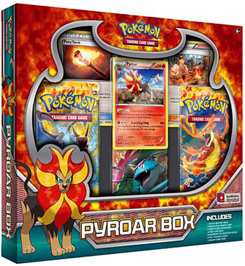 Pokemon Trading Card Game XY Flashfire Pyroar Box Set [3 Booster Packs, 2 Trainer Cards & Promo Card!]