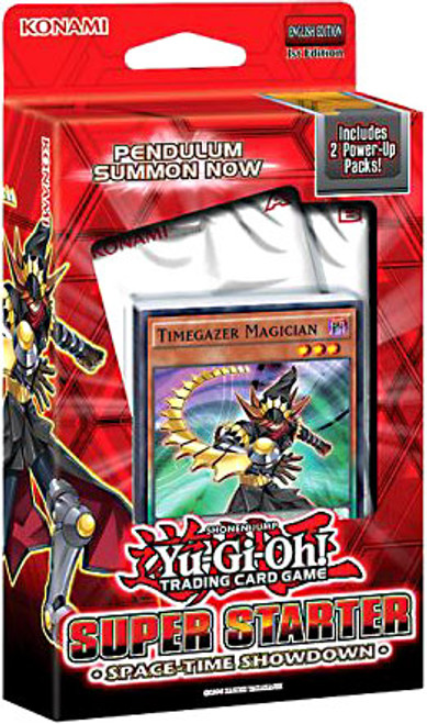 YuGiOh Trading Card Game 2014 Super Starter: Space-Time Showdown (1st Edition) Deck