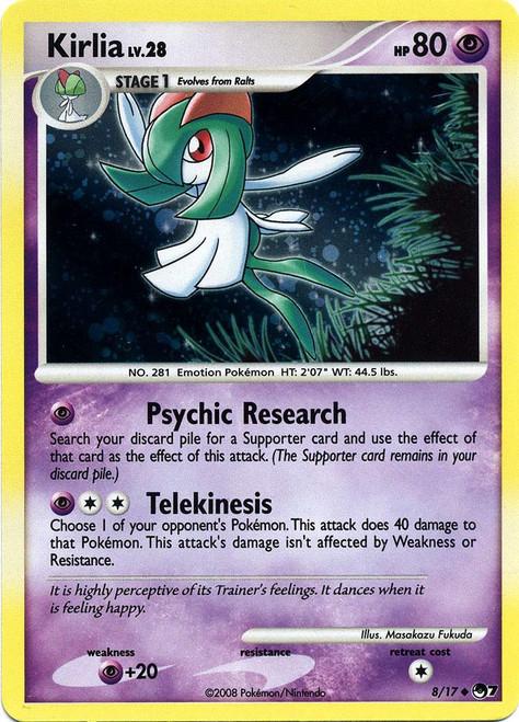 Pokemon Trading Card Game Organized Play Series 7 Uncommon Kirlia #8 [Holo]