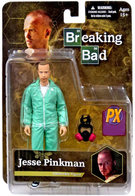 Breaking Bad Jesse Pinkman Exclusive Action Figure [Blue Hazmat Suit]