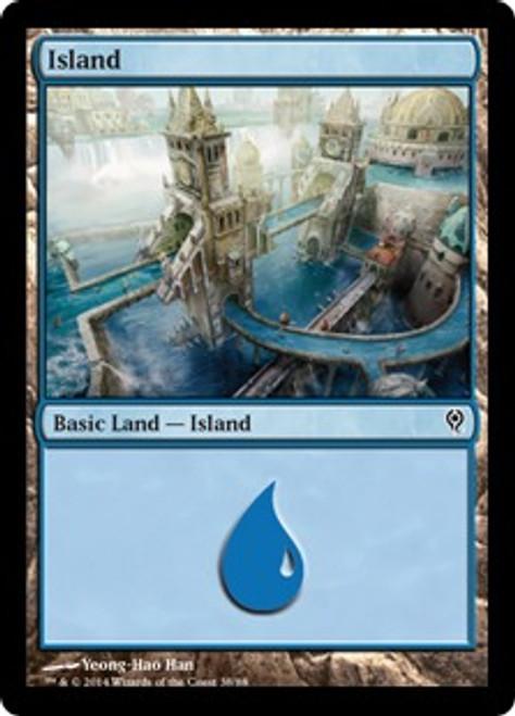 MtG Duel Decks: Jace vs. Vraska Land Island [RANDOM Artwork]