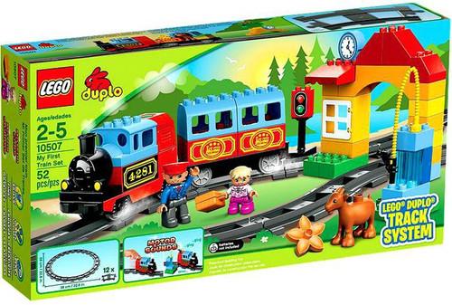 LEGO Duplo Track System My First Train Set Set #10507