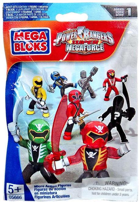 Mega Bloks Power Rangers Super Megaforce Series 1 Mystery Pack
