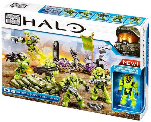 Mega Bloks Halo UNSC Fireteam Venom Set #97350