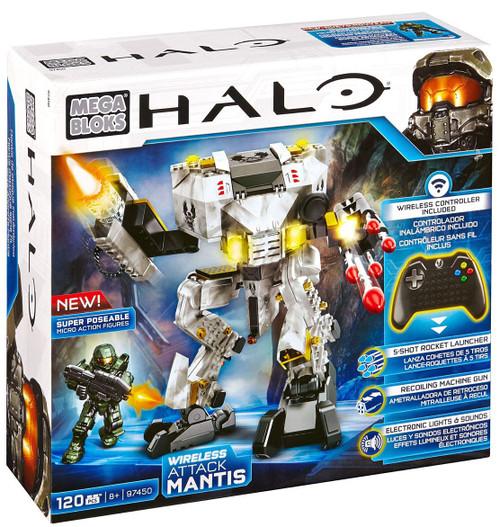Mega Bloks Halo Wireless Attack Mantis Set #97450 [Lights & Sounds]