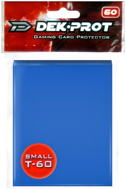 Card Supplies Gaming Card Protectors Ocean Blue Small Card Sleeves [60 Count]