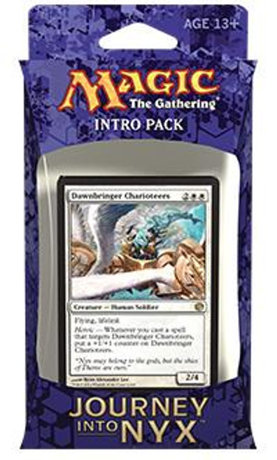 MtG Trading Card Game Journey into Nyx Mortals of Myth Intro Pack