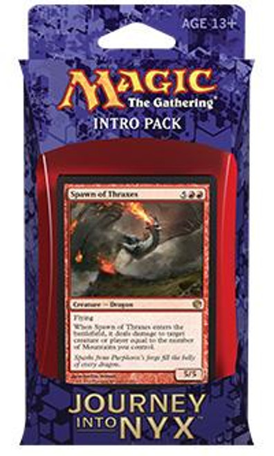 MtG Trading Card Game Journey into Nyx Voracious Rage Intro Pack