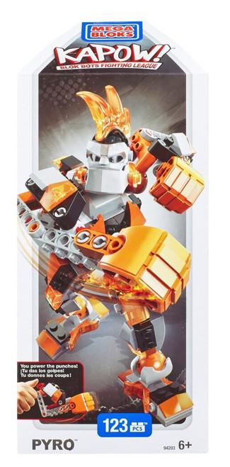 Mega Bloks Kapow! Pyro Set #94203