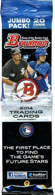 MLB Topps 2014 Bowman Baseball Trading Card JUMBO RETAIL Pack [20 Cards]