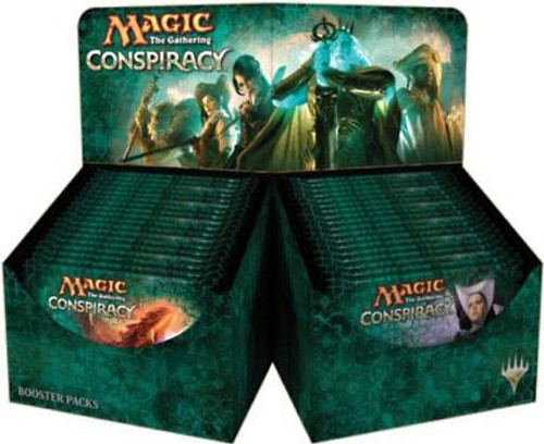 MtG Trading Card Game Conspiracy Booster Box [36 Packs]