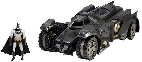 DC Comics Multiverse Arkham Knight Batmobile & Batman Exclusive Action Figure Set