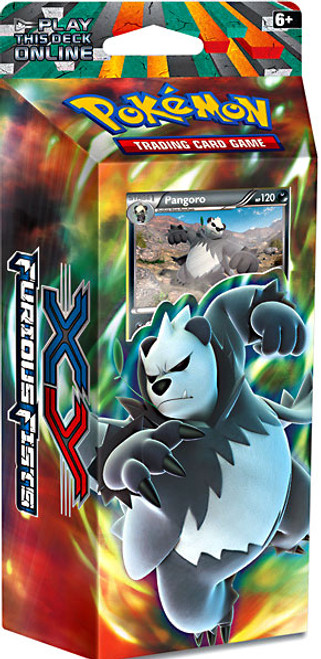 Pokemon Trading Card Game XY Furious Fists Dark Hammer Theme Deck