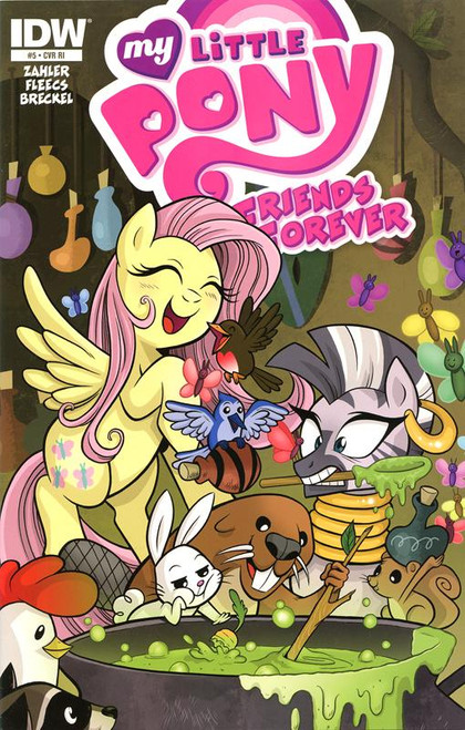 My Little Pony #5 Comic Book [Retailer Incentive]