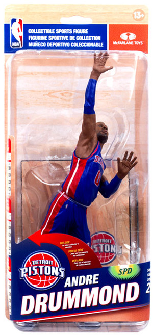 McFarlane Toys NBA Detroit Pistons Sports Picks Series 25 Andre Drummond Action Figure [Blue Uniform]