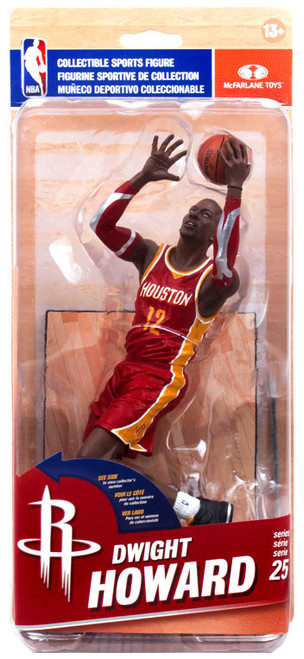 McFarlane Toys NBA Houston Rockets Sports Picks Series 25 Dwight Howard Action Figure [Red Uniform]