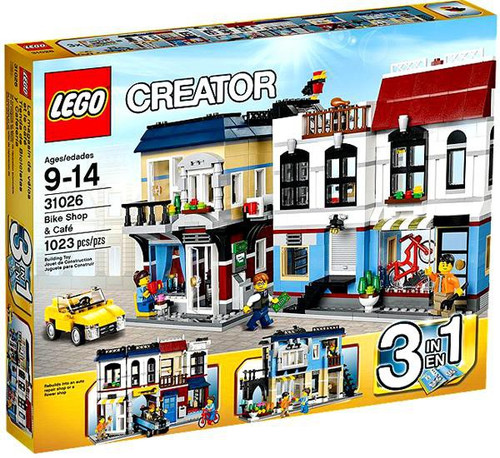 LEGO Creator Bike Shop & Cafe Set #31026