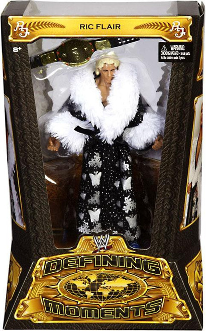 WWE Wrestling Defining Moments Series 1 Ric Flair Action Figure [Black Robe]