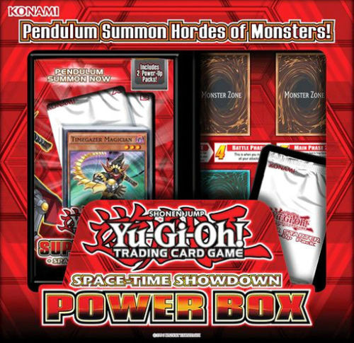 YuGiOh Trading Card Game 2014 Super Starter: Space-Time Showdown Power Box