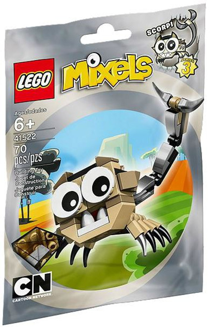 LEGO Mixels Series 3 SCORPI Set #41522