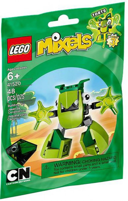 LEGO Mixels Series 3 TORTS Set #41520