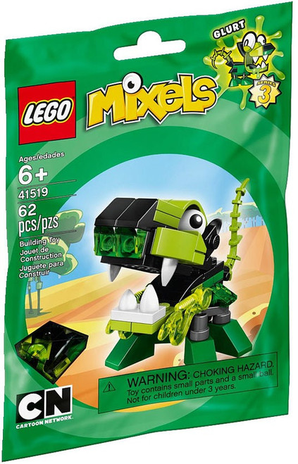 LEGO Mixels Series 3 GLURT Set #41519