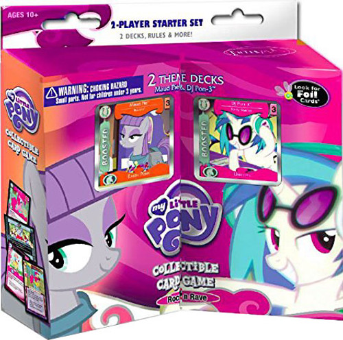 My Little Pony Collectible Card Game Vol. 2.0 Maud Pie & DJ Pon-3 Rock 'N Rave 2-Player Starter Deck