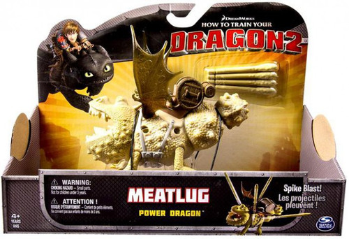 How to Train Your Dragon 2 Power Dragons Meatlug Action Figure