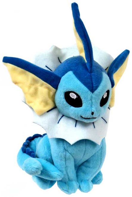 Pokemon XY Evolutions Vaporeon 8-Inch Plush [Mouth Closed]