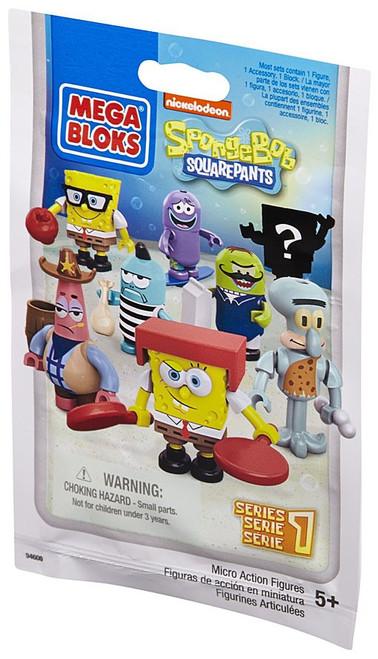 Mega Bloks Spongebob Squarepants Series 1 Mystery Pack #94600