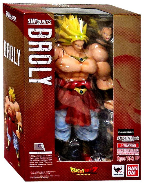 Dragon Ball Z S.H. Figuarts Broly Action Figure []