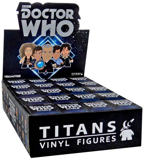 Doctor Who Regeneration Collection Vinyl Mini Figure Mystery Box [20 Packs]