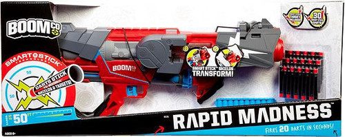 BOOMco Rapid Madness Blaster Roleplay Toy