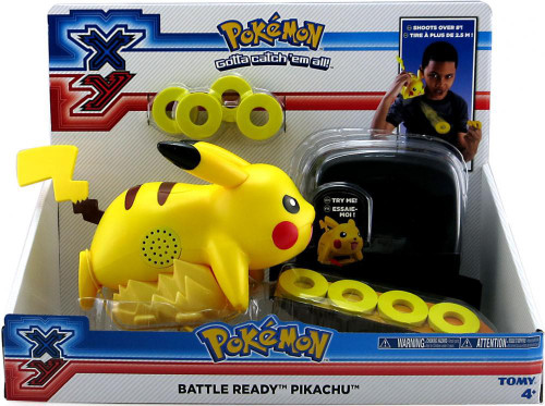 Pokemon XY Battle Ready Pikachu Figure