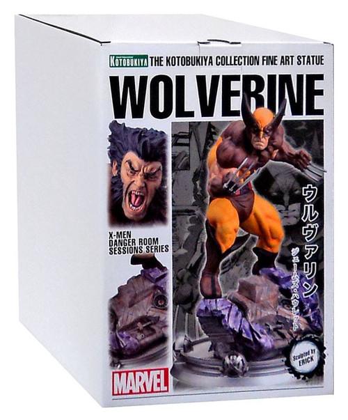 Marvel Wolverine FIne Art Statue [Brown Costume]