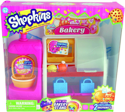 Shopkins Spin Mix Bakery Stand Playset