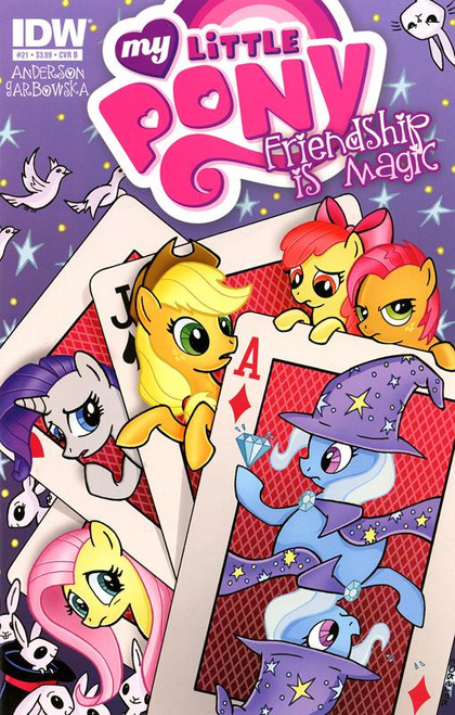 My Little Pony Friendship is Magic #21 Comic Book [Cover B]