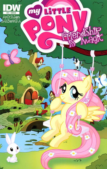 My Little Pony Friendship is Magic #21 Comic Book [Retailer Incentive Cover]