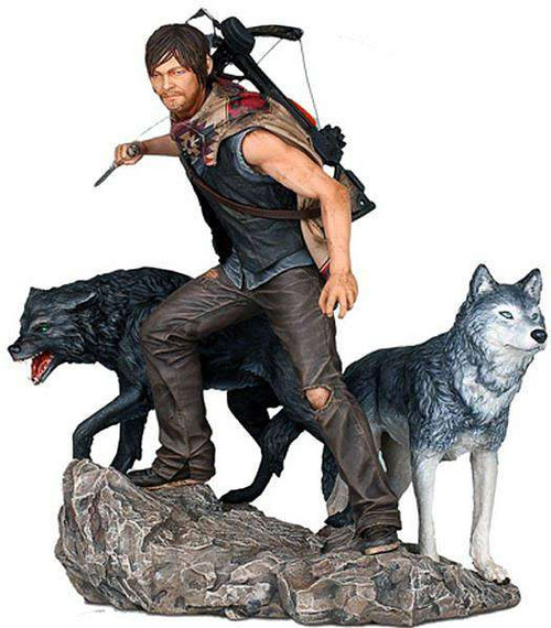 The Walking Dead AMC TV Daryl Dixon & The Wolves Statue