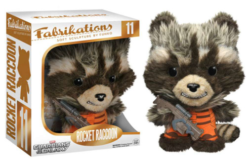 Marvel Guardians of the Galaxy Funko Fabrikations Rocket Raccoon Plush #11