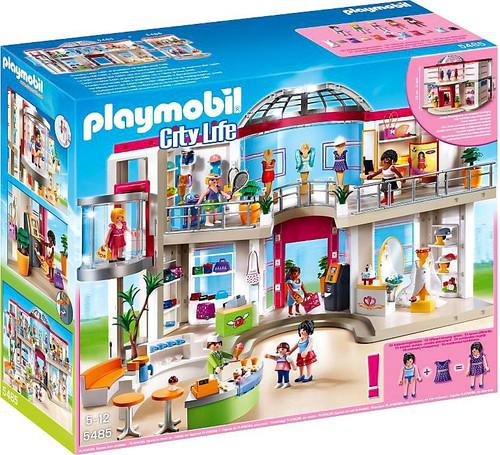 Playmobil City Life Furnished Shopping Mall Set #5485