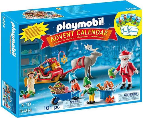 Playmobil Advent Calendar Santa's Workshop Set #5494