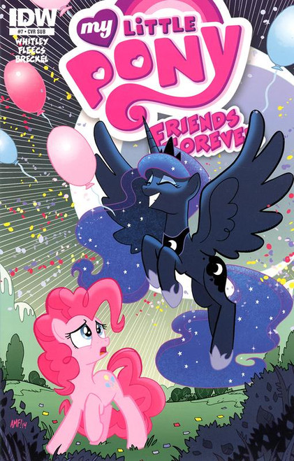 My Little Pony #7 Comic Book [Subscription Cover]